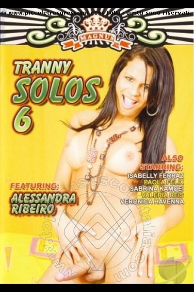 Foto frontale della copertina del film di Veronika Havenna The Best Pornostar transescort Milano