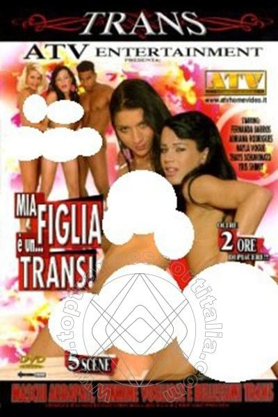Foto frontale della copertina del film di Thays Schiavinato Pornostar transescort Vercelli